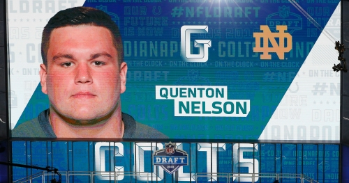 Indianapolis Colts sign former Notre Dame star Quenton Nelson