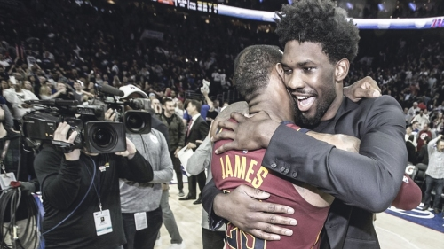 Joel Embiid will recruit for Philly if needed