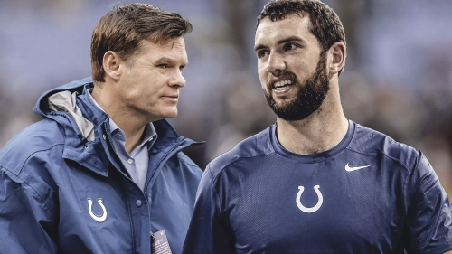 Colts targeting training camp return for Andrew Luck