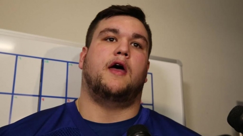 Colts' Quenton Nelson wants to get technique, playbook down during rookie camp