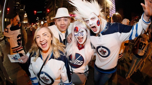 Canada's past NHL playoff celebrations have been party-like, peaceful but also ugly
