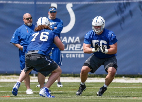 Colts rookie camp: Quenton Nelson isn't here for the nonsense