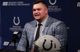 Colts sign top draft pick, eight others heading into rookie minicamp