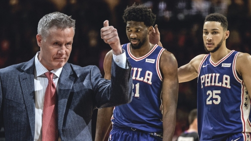 Sixers news: Brett Brown hopes to evolve chemistry with Ben Simmons, Joel Embiid