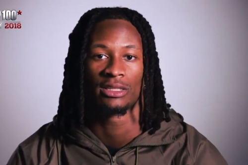 Los Angeles Rams RB Todd Gurley says the NFL's best running back is Kansas City Chiefs RB Kareem Hunt