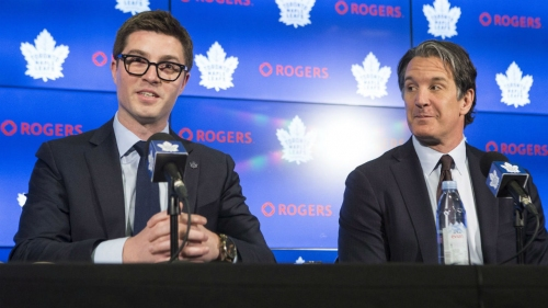 Maple Leafs GM Dubas talks time Shanahan blocked possible move to Avs