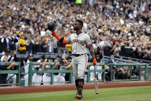 Pirates deal Giants fifth straight loss, spoil McCutchen's return