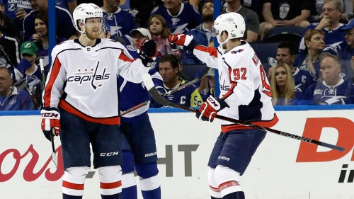 Capitals draw first blood with Game 1 win over Lightning