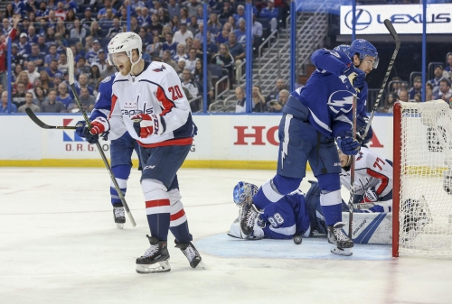 Lightning lacks energy and intensity in 4-2 loss to Capitals in Game 1