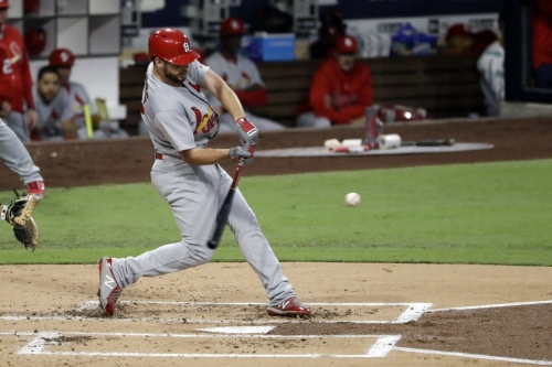 Cards belt five homers in win over Padres
