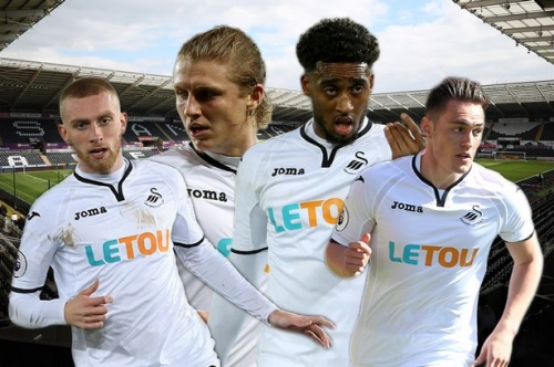 The team Swansea City could be left with after expected Premier League relegation leads to summer of departures