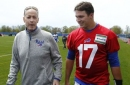 New Bills QB Josh Allen thrown for loss (of words) at meeting Jim Kelly