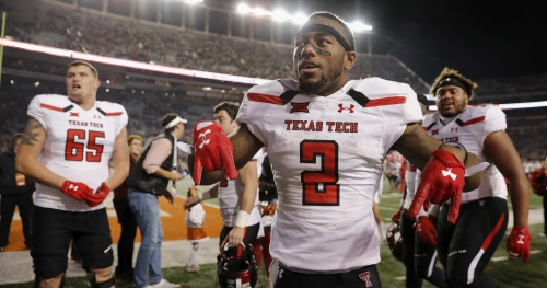 Former Texas Tech receiver Keke Coutee ready to 'prove doubters wrong'