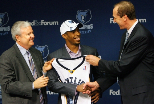 Remembering Grizzlies checkered draft lottery history