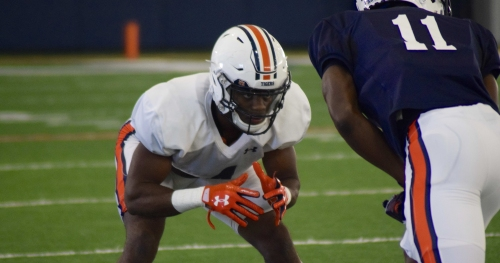How Auburn's Noah Igbinoghene went from reserve WR to potential starting CB this spring