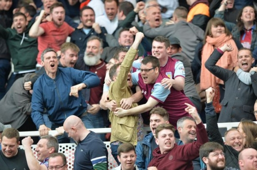 Aston Villa faces in the crowd - can you spot yourself celebrating at the Riverside?