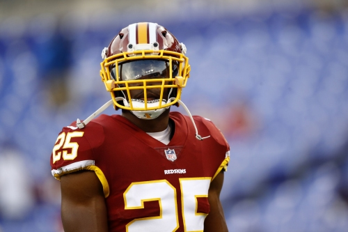 Redskins' Smithson hopes to catch attention for more than just his name
