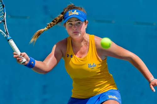 UCLA Women's Tennis Sweeps Fresno State, 4-0; Faces Baylor Today