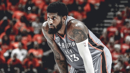 Report: Paul George also had work done on his elbow in addition to knee