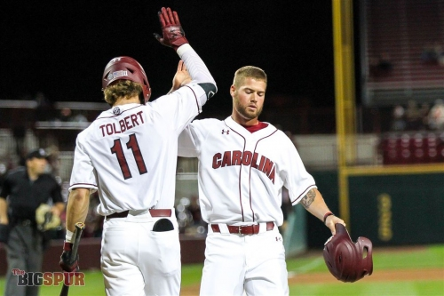 Gamecocks Beat Tigers 6-3, Even Series