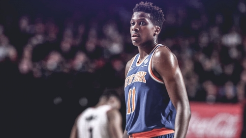 Knicks concerned with Frank Ntilikina when pondering NBA Draft