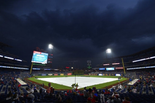 Phillies-Mets postponed by rain after one-hour delay