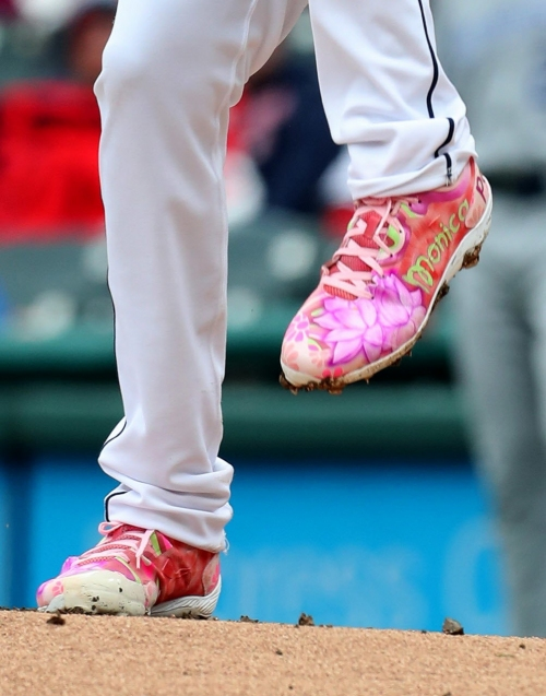 If Indians' right-hander Mike Clevinger gets fined for spikes, he'll turn it into a positive