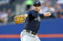 Braves look to secure series win against Marlins on Sunday