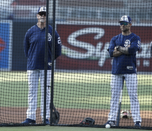 Skip Schumaker 'lucky' to have landed as a Padres coach
