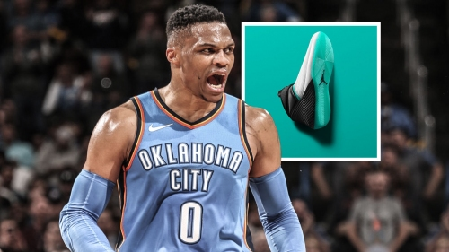 Jordan releases Russell Westbrook shoes with color way inspired by his son