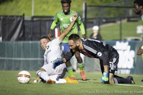 Sounders 2 lose to Timbers 2 at Cheney
