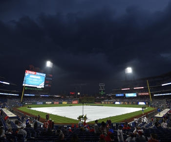 Mets-Phillies postponed by rain after 1-hour delay