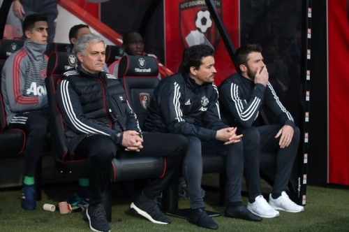Jose Mourinho keeping Manchester United FC's assistant seat warm for Michael Carrick