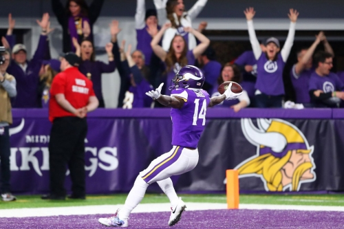 """You might want to jump on the """"Over"""" on the Vikings 2018 win total"""