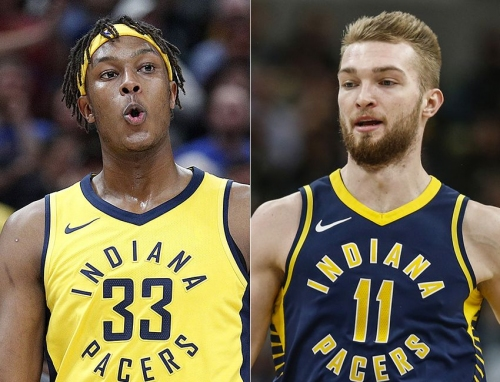 How Pacers use Myles Turner, Domantas Sabonis will depend on bigs' offseason development