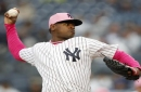 Stanton 4 for 4 with HR, Severino pitches Yanks past A's 6-2