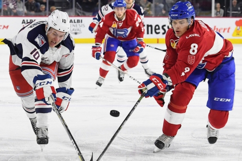 Noah Juulsen quickly became the Laval Rocket's top defender
