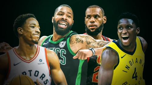 Marcus Morris says Pacers, Raptors couldn't lock down LeBron James because 'them dudes can't guard'
