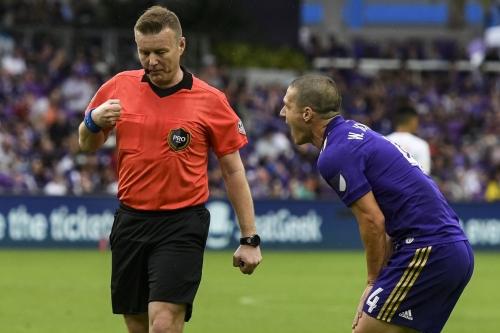 Major Link Soccer: Will Johnson throws a temper tantrum
