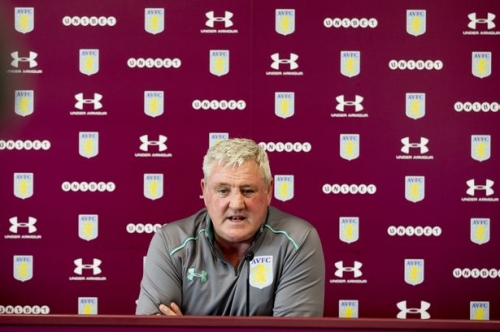The moment Aston Villa boss Steve Bruce didn't take kindly to being reminded of