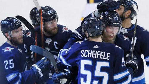 Jets praise Scheifele's work ethic & ability to create chemistry