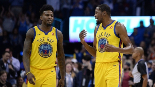 Jordan Bell has new-found love, respect for basketball after heartfelt conversation with Kevin Durant