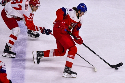 Red Wings prospect Libor Sulak helps Czechs advance at Worlds