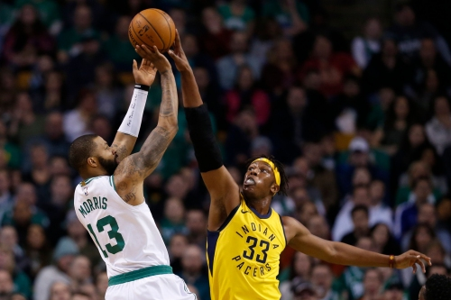 Marcus Morris on Pacers' defense against LeBron James: 'Them dudes can't guard'