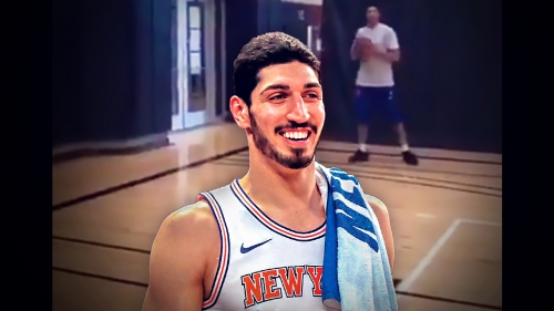 Sports Illustrated trolls Enes Kanter offseason video