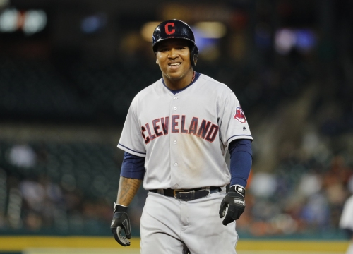 Jose Ramirez is tied for the major league lead in home runs with 13, and yes, you're reading that right
