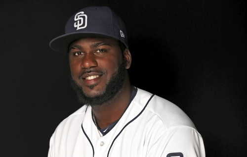 San Diego Padres call up Franmil Reyes, whose 14 homers lead all of baseball