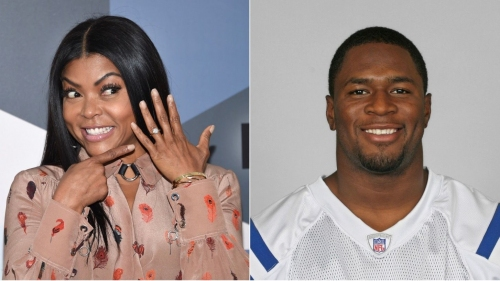 'I almost passed out!' Colts hero Kelvin Hayden proposes to 'Empire' star Taraji P. Henson