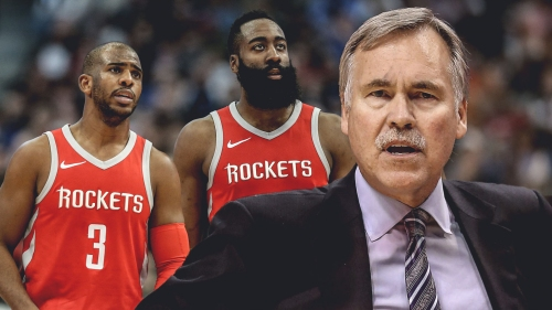Mike D'Antoni coins team's offense as 'James and Chris seconds or less'