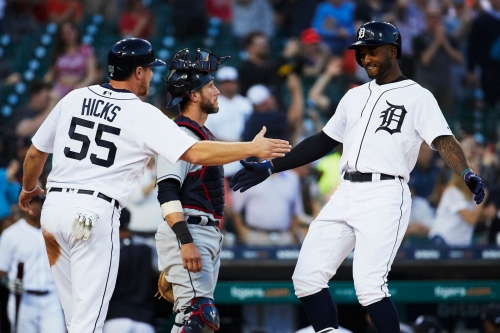 Niko Goodrum stars in Detroit Tigers streak-snapping win over Indians
